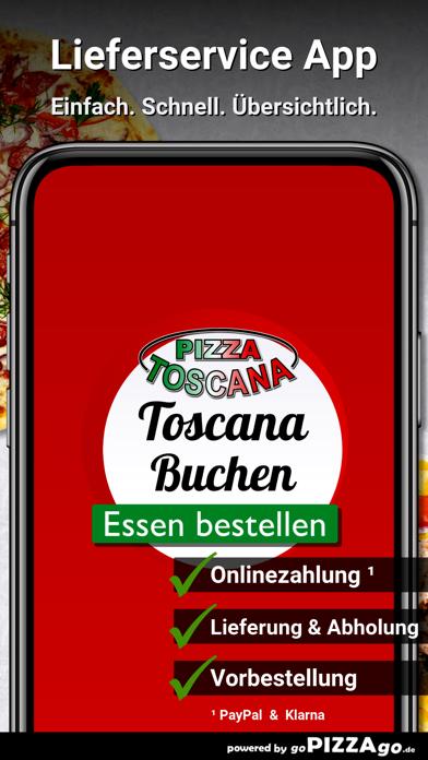 Pizza Toscana Buchen screenshot 1