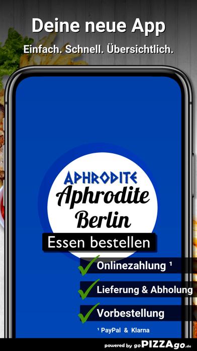Aphrodite Berlin screenshot 2