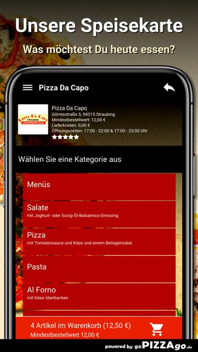 Pizza Da Capo Straubing screenshot 4