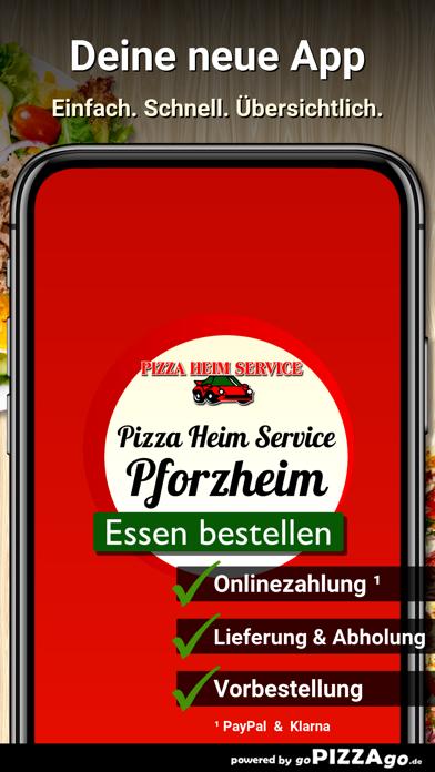 Pizza Heim Service Pforzheim screenshot 1