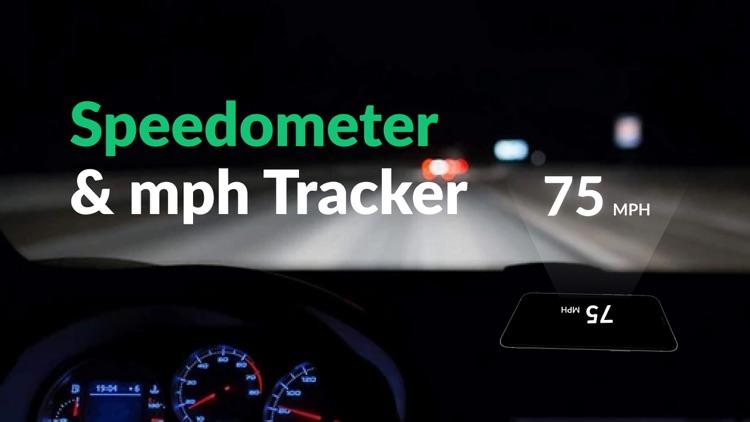 Speedometer: Mph Tracker Speed screenshot-4