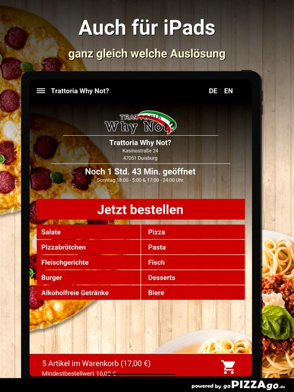 Trattoria Why Not? Duisburg screenshot 7
