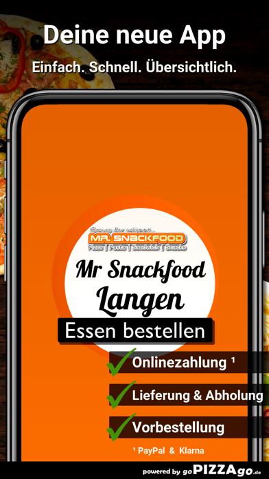 Mr. Snackfood Langen screenshot 1