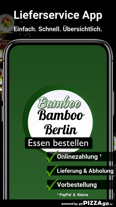 Restaurant Bamboo Berlin screenshot 1