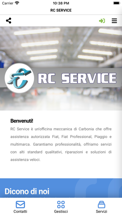 RC Service Screenshot