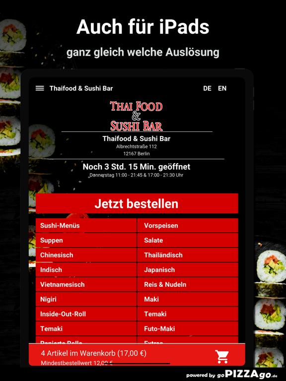 Thaifood & Sushi Bar Berlin screenshot 7