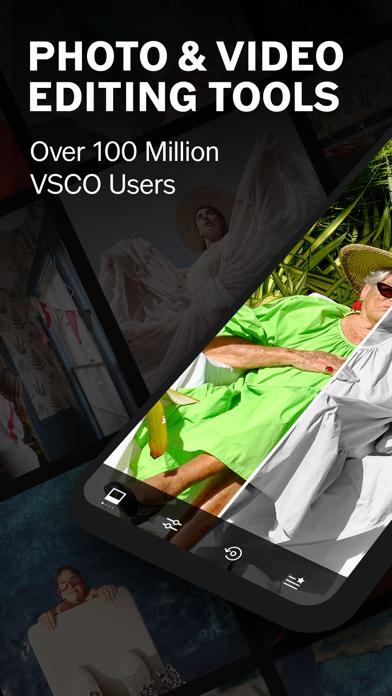 VSCO: Photo & Video Editor Screenshot on iOS