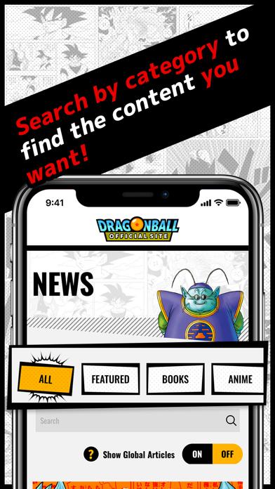 Dragon Ball Official Site App screenshot 7