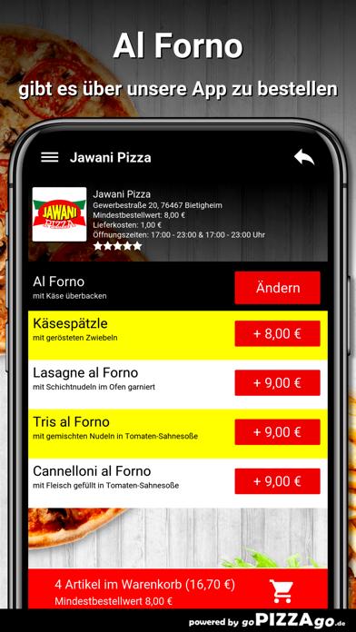 Jawani Pizza Bietigheim screenshot 6