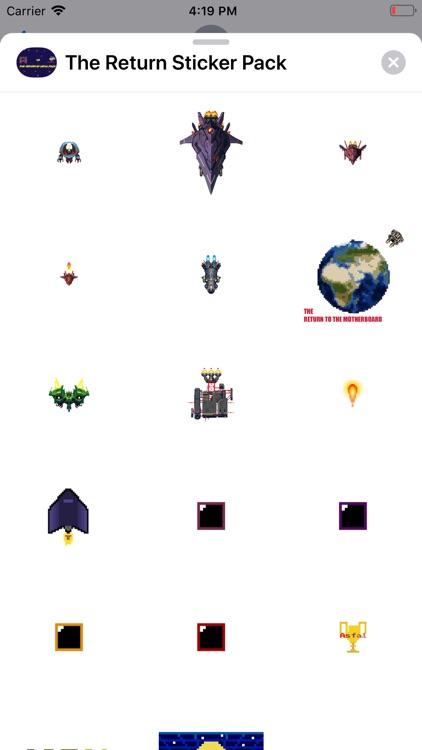 The Return Asfal Sticker Pack