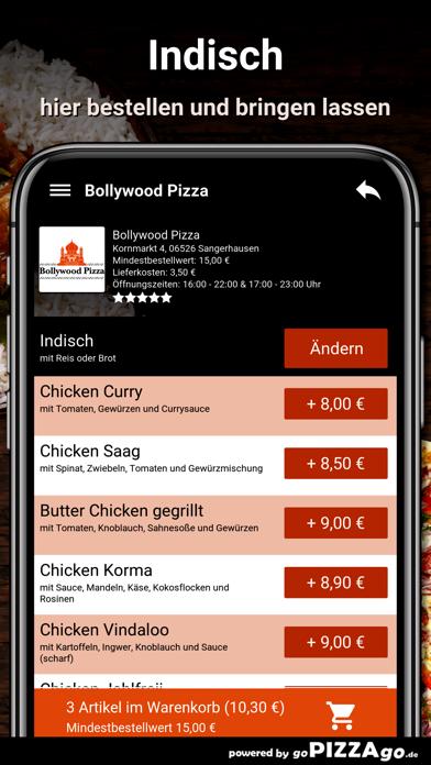 Bollywood Pizza Sangerhausen screenshot 6