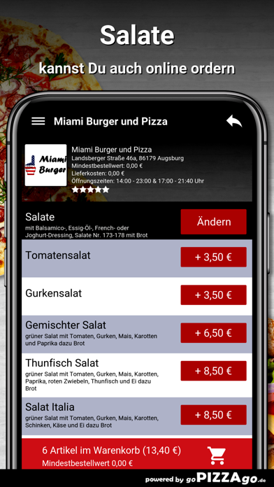 Miami-Burger Augsburg screenshot 5