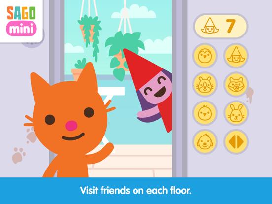 Sago Mini Apartment Adventure screenshot 9