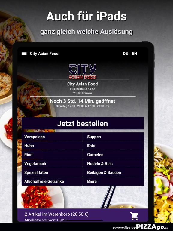 City Asian Food Bremen screenshot 8