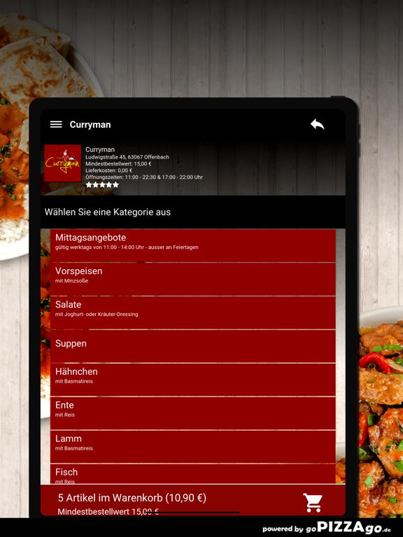 Curryman Offenbach screenshot 8