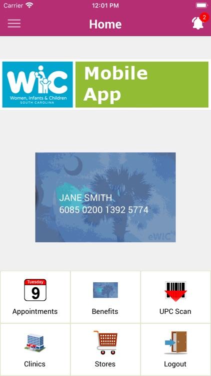 South Carolina WIC screenshot-3