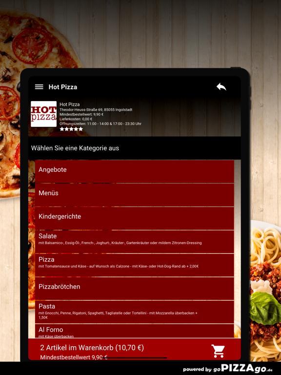 Hot Pizza Ingolstadt screenshot 8