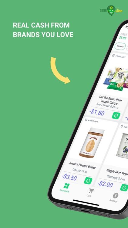 GreenJinn Cashback App US screenshot-0