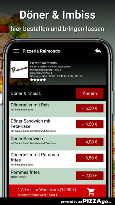 Pizzeria Raimondo Wiesbaden screenshot 6