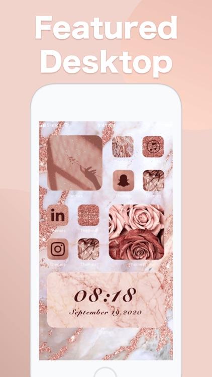Themes: Color Widgets, Icons screenshot-3