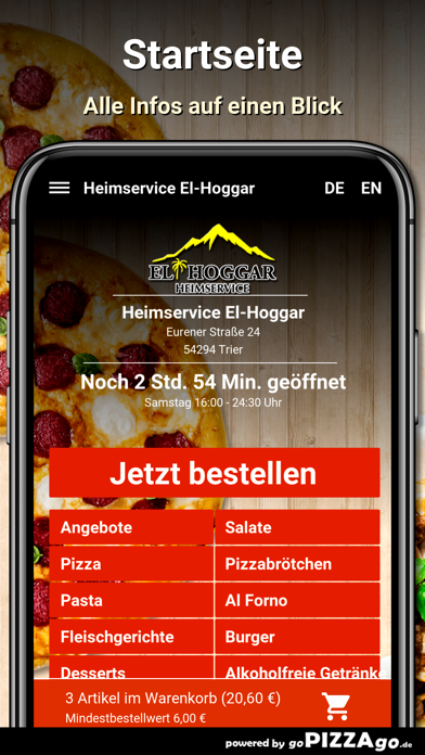 Heimservice El-Hoggar Trier screenshot 2
