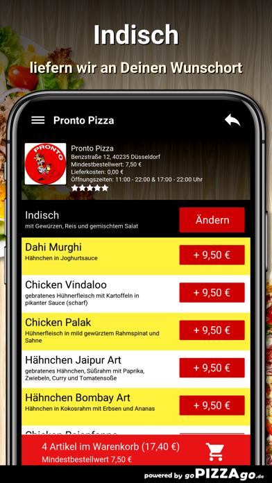 Pronto Pizza Düsseldorf screenshot 6