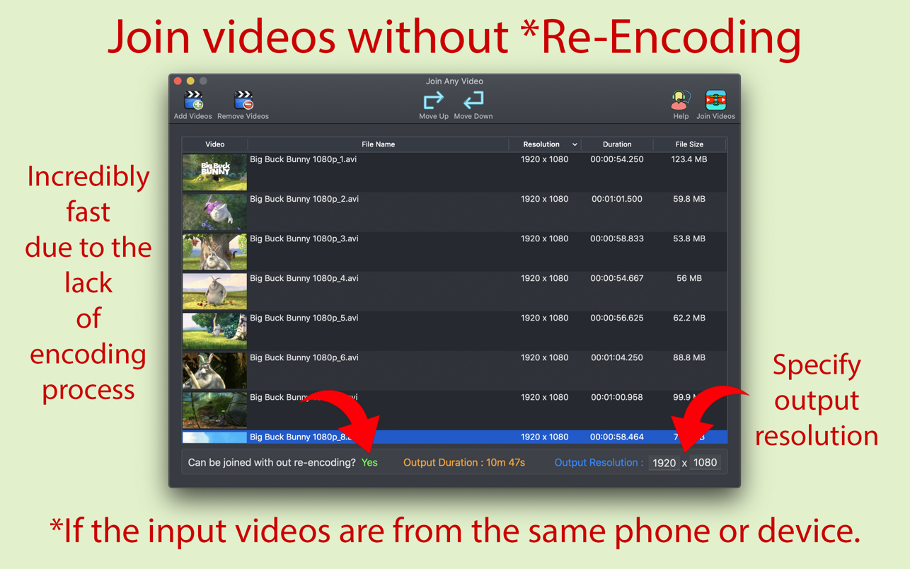 Join Any Video 3.0.2 Mac 破解版 视频自由编辑器