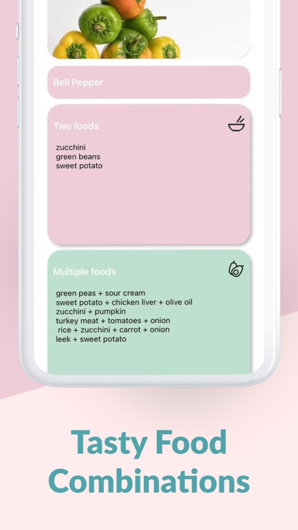 Baby Solids Food Tracker