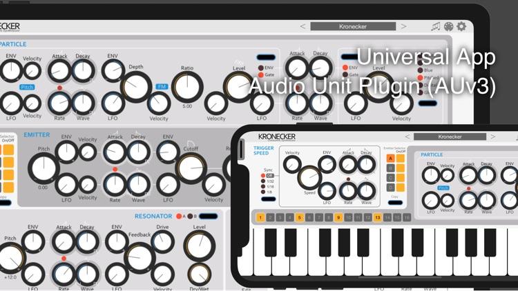 Kronecker - AUv3 Plugin Synth screenshot-0