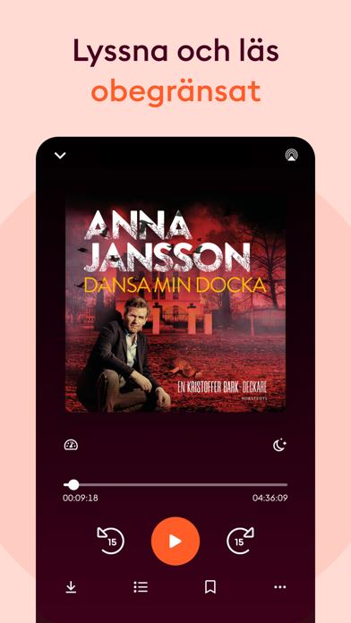 Storytel Ljudböcker & E-böcker på PC