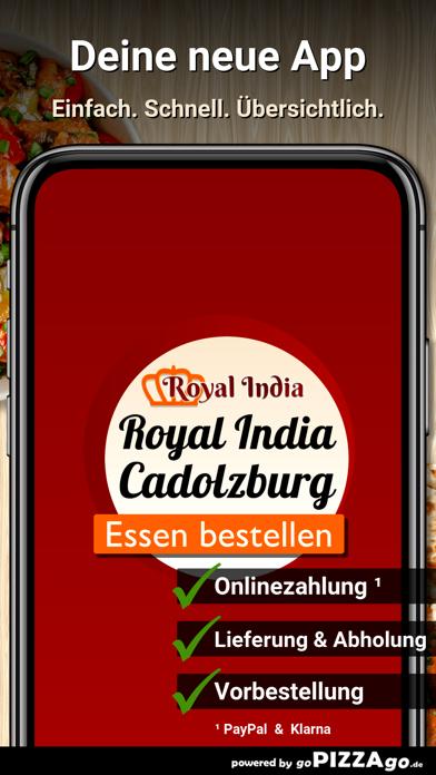 Royal India Cadolzburg screenshot 1