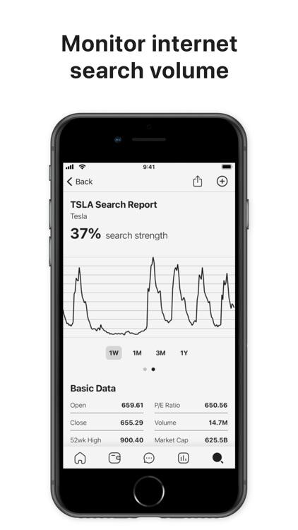 Invezo: Stock & Crypto Data screenshot-5