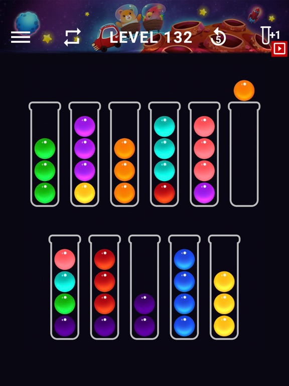 Ball Sort Color Water Puzzleのおすすめ画像3
