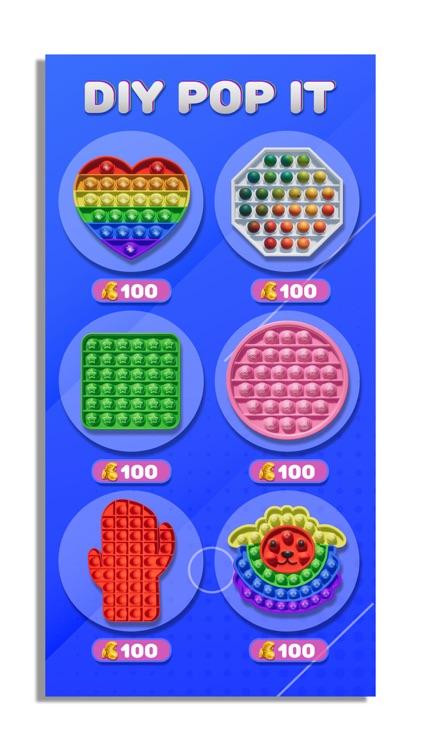DIY Pop It Fidget Toys! poppop