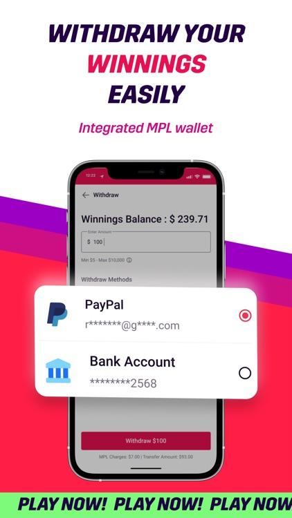 MPL: Play Games Win Real Money screenshot-4