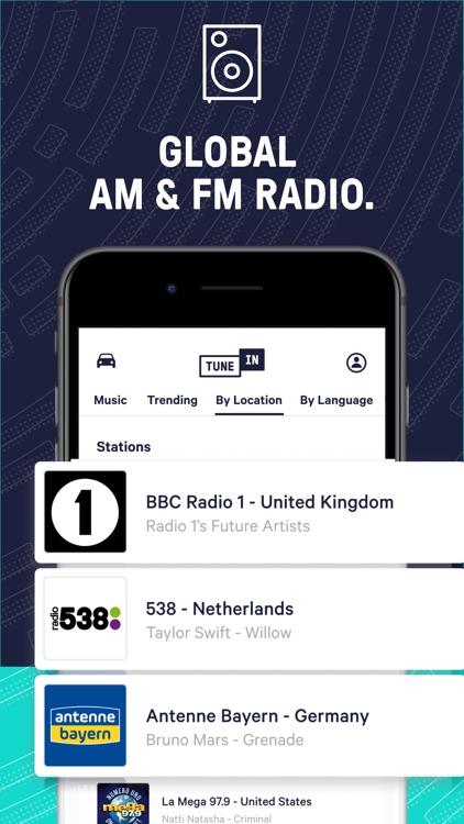 TuneInRadio: Music & Sports screenshot-3