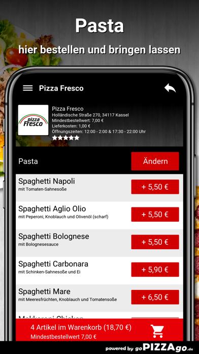 Pizza Fresco Kassel screenshot 6