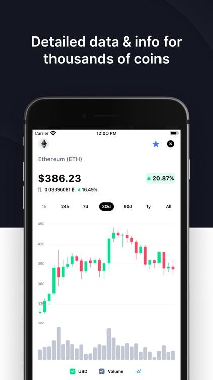CoinMarketCap: Crypto Tracker screenshot-4