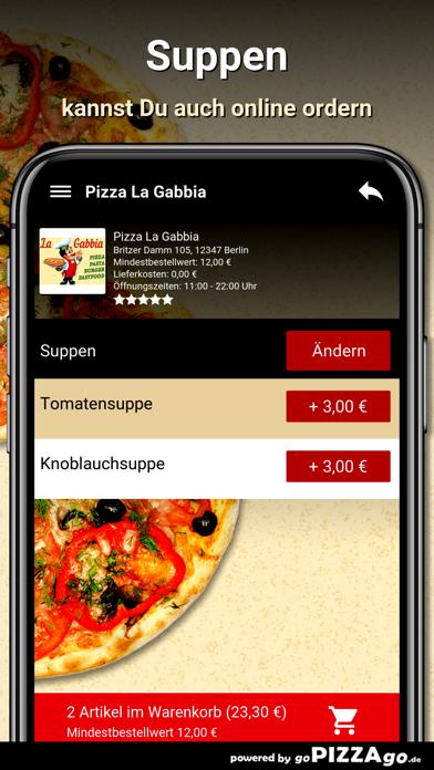 Pizza La Gabbia Berlin screenshot 5