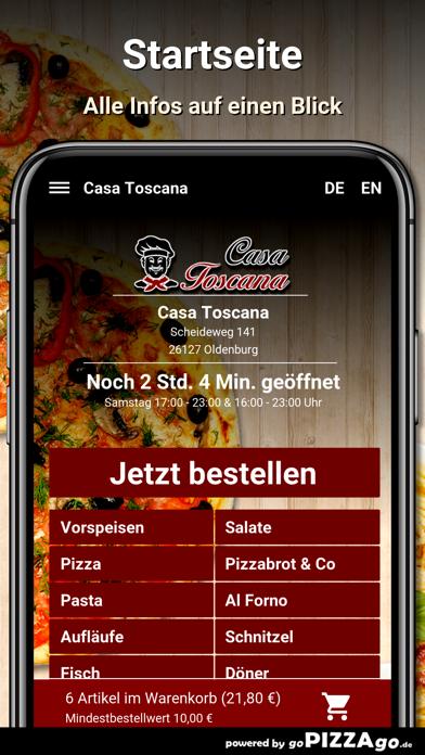Casa Toscana Oldenburg screenshot 2