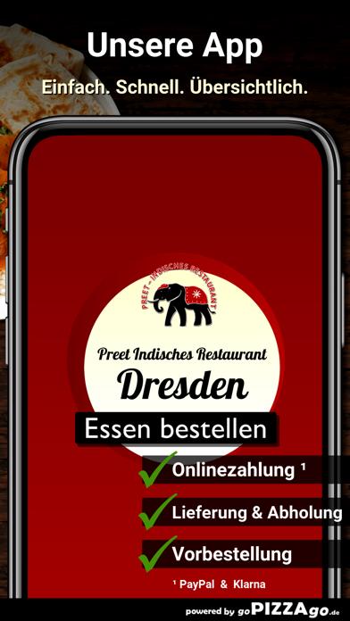 Preet Indisches Restaurant Dre screenshot 1