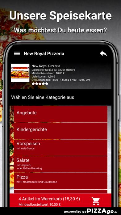New Royal Pizzeria Herford screenshot 4