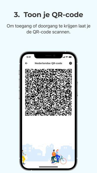 CoronaCheck iPhone app afbeelding 5