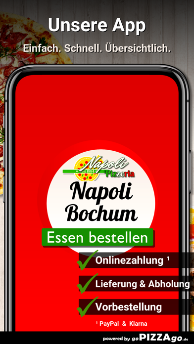 Pizzeria Napoli Bochum screenshot 1