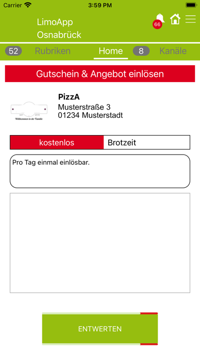 download Limo Gutschein APP for PC