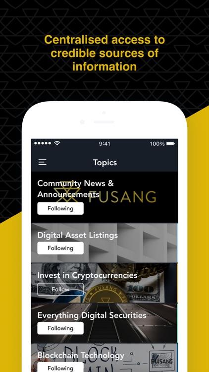 FUSANG Community