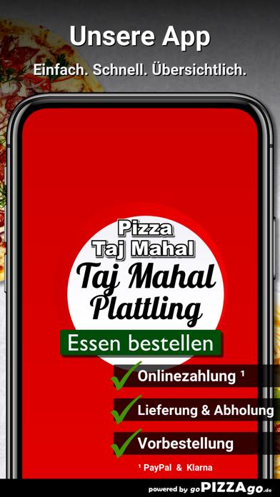 Pizza Taj Mahal Plattling screenshot 1