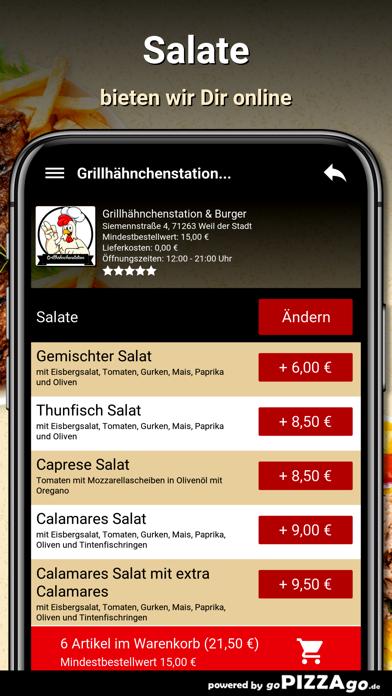 Grillhähnchenstation & Burger screenshot 5