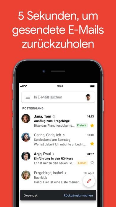 Gmail – E-Mail von GoogleScreenshot von 1