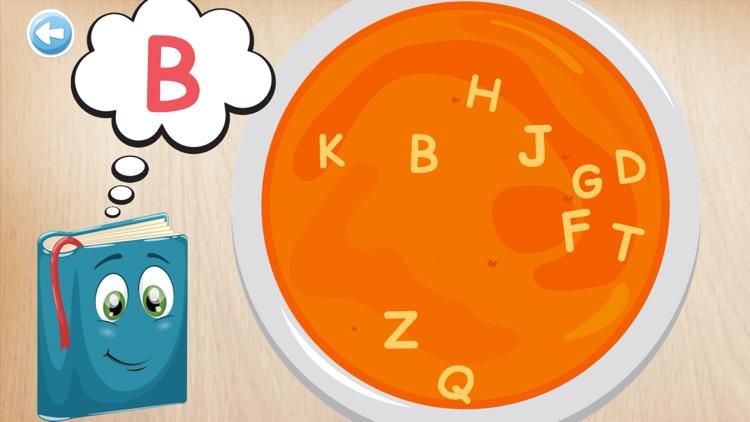 Alphabets game. Learn alphabet